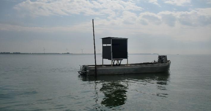 Kijkhut op het water | Kooistra Visserij