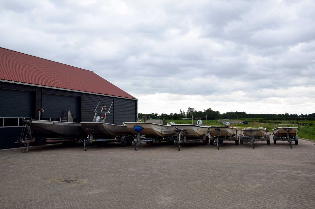 Kooistra Visserij beschikt over diverse aluminium- en kunststofboten
