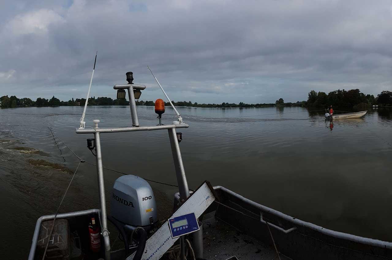 Afvissen met het kuilnet | Kooistra Visserij: afvissen, onderzoek en beheer